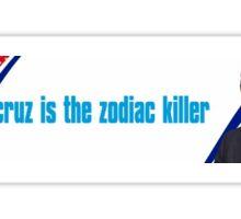 zodiac ted Sticker