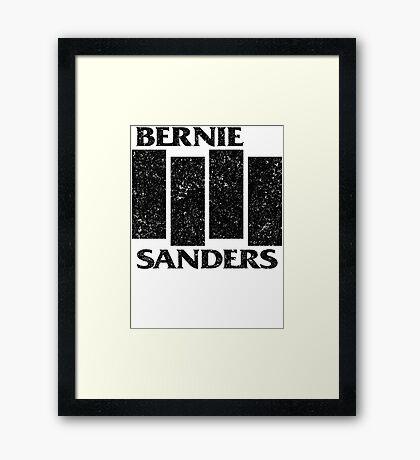 Bernie Flag  Framed Print