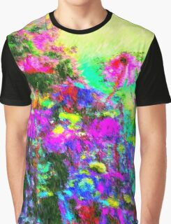 Monet Gardens Graphic T-Shirt