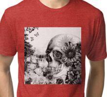 Reflection. Skull landscape Tri-blend T-Shirt
