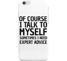 Funny Life Wisdom Cool Joke Comedy Ironic iPhone Case/Skin