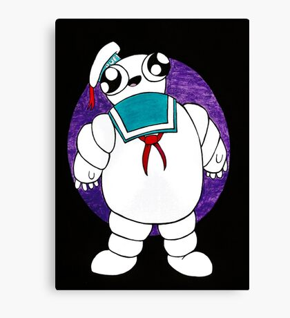 Mr Stay puft marshmallow man Canvas Print