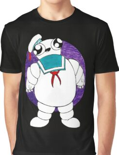 Mr Stay puft marshmallow man Graphic T-Shirt