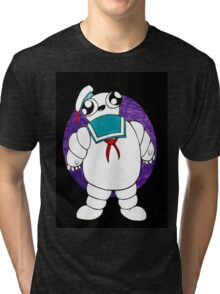 Mr Stay puft marshmallow man Tri-blend T-Shirt