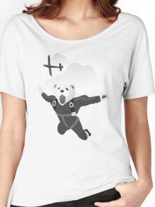 Impractical Jokers Murr Ferret Skydive Funny Fan Art Unofficial Women's Relaxed Fit T-Shirt