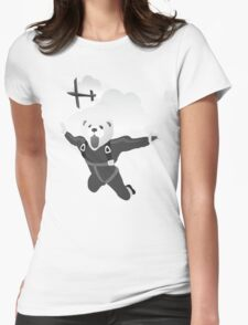 Impractical Jokers Murr Ferret Skydive Funny Fan Art Unofficial Womens Fitted T-Shirt