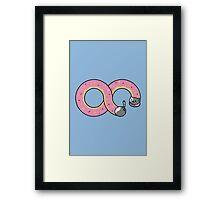 Neko Infinite Framed Print