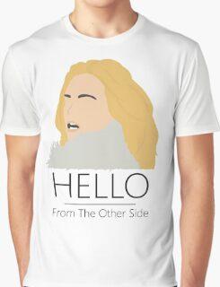 Adele Hello 25 Singer Artist Fan Art Unofficial Music Design Graphic T-Shirt