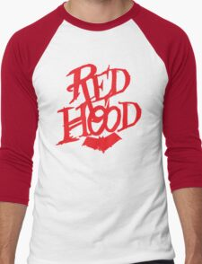 Red Hood  Men's Baseball ¾ T-Shirt
