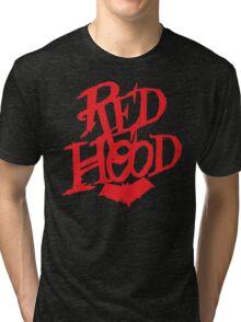 Red Hood  Tri-blend T-Shirt