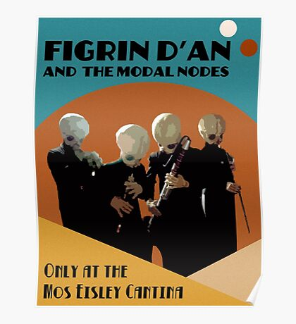 Mos Eisley Cantina Band Poster