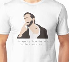 Bon Iver Wild Cabin Indie Folk Fan Art Unofficial Music Unisex T-Shirt