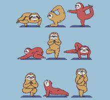 Yoga Sloth One Piece - Short Sleeve