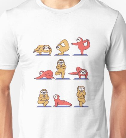 Yoga Sloth Unisex T-Shirt