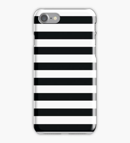 Huge black stripes iPhone Case/Skin