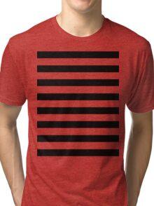 Huge black stripes Tri-blend T-Shirt