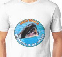 Orca Whale  predators attacking Unisex T-Shirt