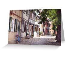 Quedlinburg Greeting Card
