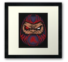 AKUMA DOLL Framed Print