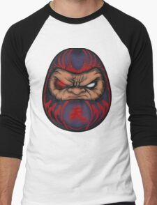 AKUMA DOLL Men's Baseball ¾ T-Shirt