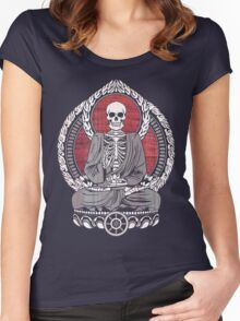 Starving Buddha Cherry Wood Women's Fitted Scoop T-Shirt