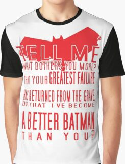 Red Hood Quotes Graphic T-Shirt