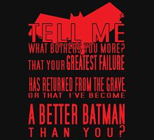 Red Hood Quotes Unisex T-Shirt