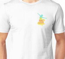 Dancing Sunrise Girl Unisex T-Shirt