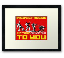 Soviet Disco Framed Print