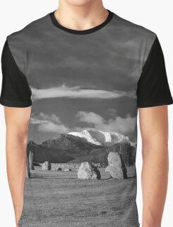 Castlerigg Stone Circle Graphic T-Shirt