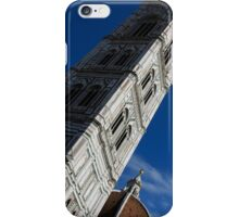 Giotto's Fantastic Campanile, Florence Cathedral, Piazza del Duomo, Florence, Italy iPhone Case/Skin