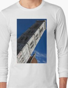 Giotto's Fantastic Campanile, Florence Cathedral, Piazza del Duomo, Florence, Italy Long Sleeve T-Shirt
