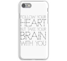 Heart Life Motivational Funny Joke Humour Fashion  iPhone Case/Skin
