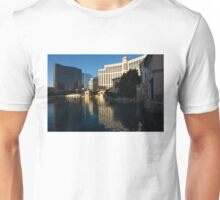 Cheerful Early Morning Bellagio Reflections Unisex T-Shirt