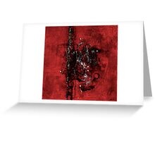 Passion Play, A Scourging I Greeting Card