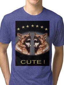 Cute Alsatian Tri-blend T-Shirt