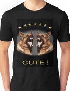Cute Alsatian Unisex T-Shirt