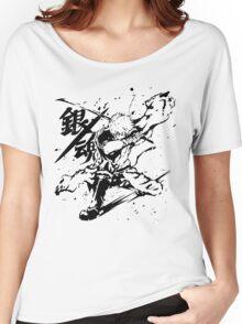 Gintama - Sakata Gintoki, Anime Women's Relaxed Fit T-Shirt