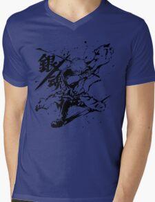 Gintama - Sakata Gintoki, Anime Mens V-Neck T-Shirt