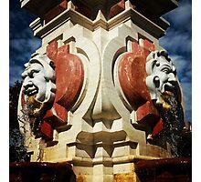KC Plaza Fountain Photographic Print