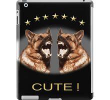 Cute Alsatian iPad Case/Skin