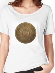 Strenght Shield, War shield, Golden shield Women's Relaxed Fit T-Shirt