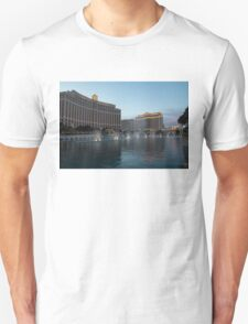 Early Evening Water Dance - Bellagio, Las Vegas Unisex T-Shirt