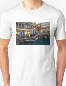 It's Not Venice - the White Wedding Gondola Unisex T-Shirt