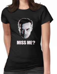 Miss Me? Static Womens Fitted T-Shirt