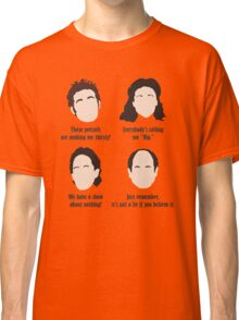 Seinfeld Comedy Fan Art Unofficial Jerry Larry David Funny Kramer Classic T-Shirt