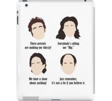 Seinfeld Comedy Fan Art Unofficial Jerry Larry David Funny Kramer iPad Case/Skin