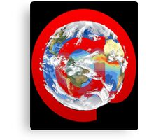 @ Earth Canvas Print