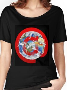 @ Earth Women's Relaxed Fit T-Shirt