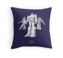 "Optimus Prime - (""model"") - dark T-shirt Throw Pillow"